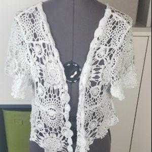 ModCloth Crochet Cardigan